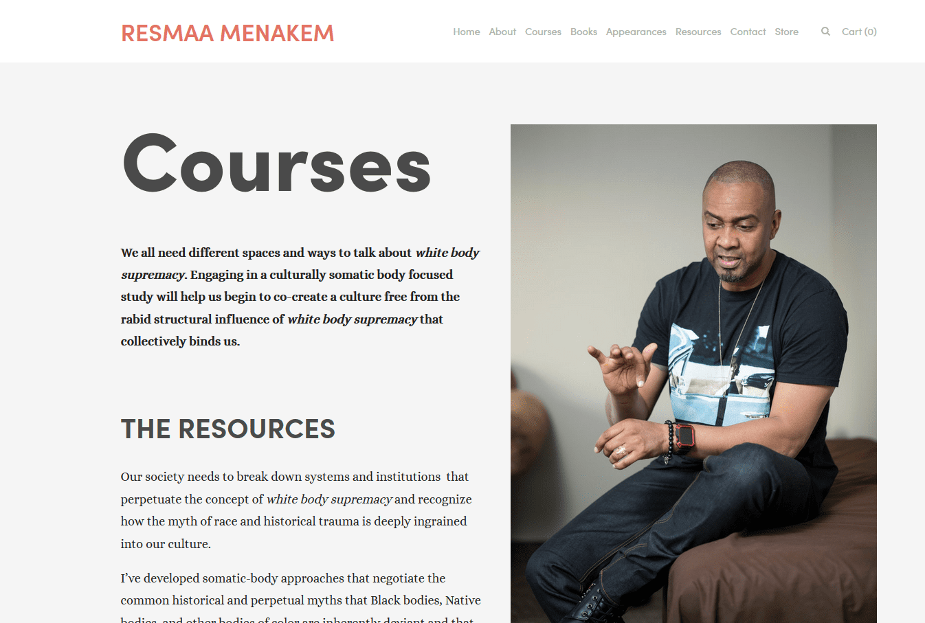 FREE 5-Day Racialized Trauma Home Study Course by Resmaa Menakem